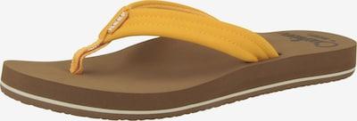 REEF Strandschuh 'Cushion Breeze' in gelb, Produktansicht