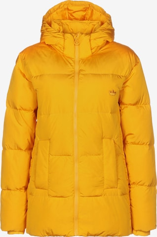 ADIDAS ORIGINALS Winter Jacket 'Down Puffer' in Yellow