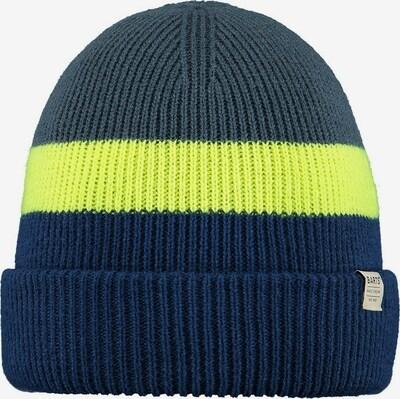 Barts Mütze in navy / taubenblau / neongelb, Produktansicht