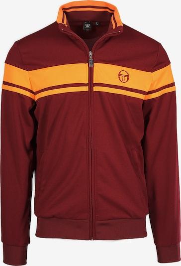 Sergio Tacchini Sportjas 'Damarindo Sweater Archivio' in de kleur Geel / Rood, Productweergave