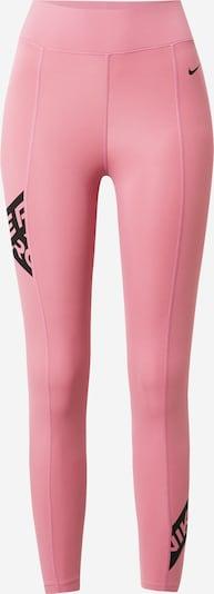 NIKE Športne hlače | staro roza / črna barva, Prikaz izdelka