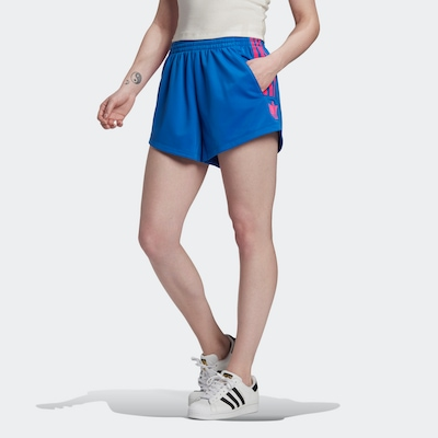 ADIDAS ORIGINALS Shorts 'Adicolor 3D Trefoil' in royalblau / pink, Modelansicht