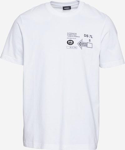 Maglietta 'JUST' DIESEL di colore nero / bianco, Visualizzazione prodotti