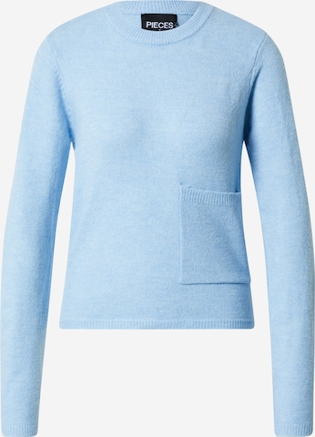 PIECES Pullover  'EAMY' i blå
