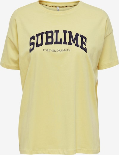 ONLY Shirt 'CANA' in gelb, Produktansicht