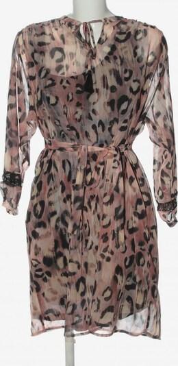 River Woods Langarmkleid in L in pink / schwarz / wollweiß, Produktansicht
