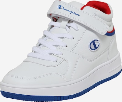 Champion Authentic Athletic Apparel Baskets hautes en bleu / rouge / blanc, Vue avec produit