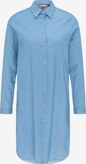 DreiMaster Vintage Blousejurk in de kleur Smoky blue, Productweergave