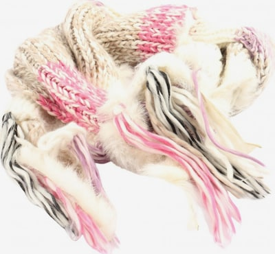 NKD Scarf & Wrap in One size in Pink / Black / Wool white, Item view