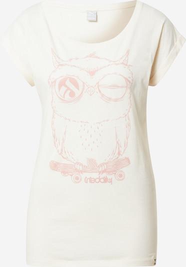 Iriedaily Shirt 'Skateowl 2' in Pink / White, Item view