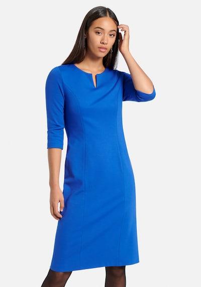 Uta Raasch Jerseykleid 'Jersey-Kleid mit 3/4-Arm' in blau, Modelansicht