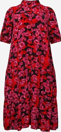 Zizzi Shirt Dress 'MALLIE' in Purple / Red / Black, Item view