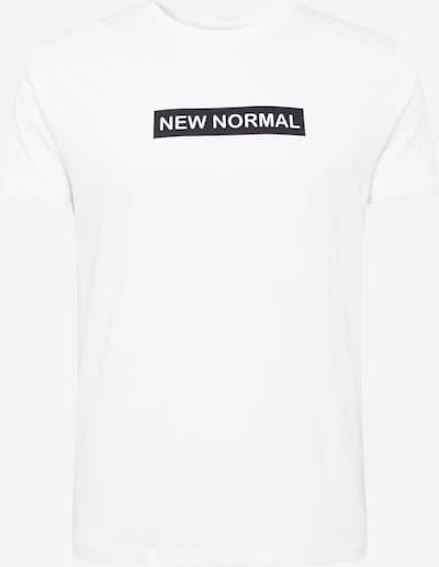 BRAVE SOUL T-Shirt 'NORMAL' en noir / blanc, Vue avec produit
