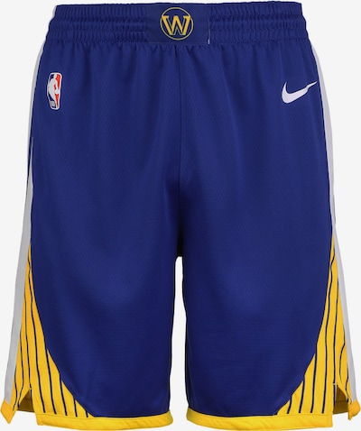 NIKE Shorts 'NBA Golden State Warriors' in navy / goldgelb / weiß, Produktansicht
