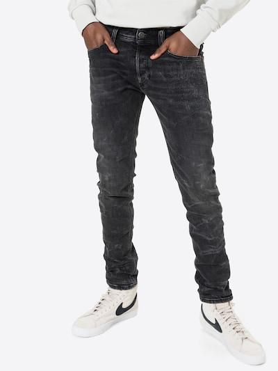 DIESEL Jeansy 'SLEENKER-X' w kolorze niebieska nocm, Podgląd na modelu(-ce)