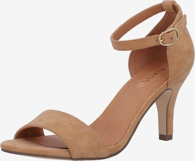 Bianco Sandale 'Adore' in camel, Produktansicht