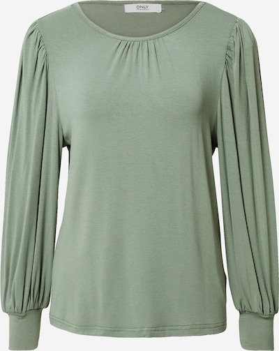 ONLY T-shirt 'Helen' en vert, Vue avec produit