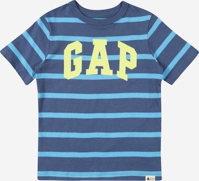 GAP T-Shirt en bleu / bleu clair / jaune, Vue avec produit