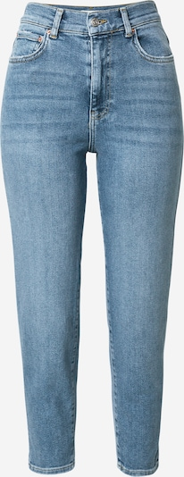 Gina Tricot Mom Jeans in blue denim, Produktansicht