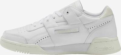 Reebok Classic Sneakers laag in de kleur Beige / Wit: Vooraanzicht