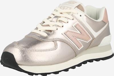 Sneaker low '574' new balance pe auriu / roz, Vizualizare produs