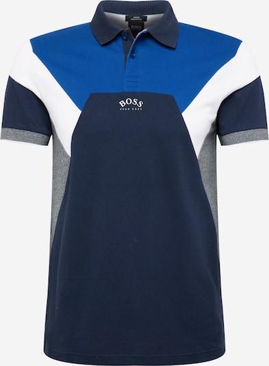 BOSS ATHLEISURE Tričko 'Paule' - modrá / námornícka modrá / sivá melírovaná / biela, Produkt