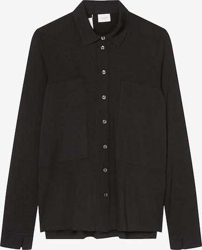 Marc O'Polo Pure Bluse in schwarz, Produktansicht