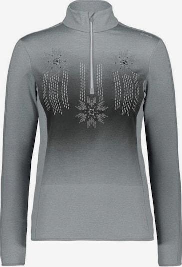 CMP Pullover ' Sweat Longsleeve ' in grau / schwarz, Produktansicht