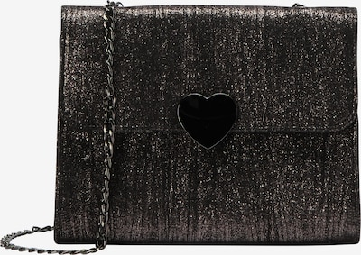myMo at night Clutch in schwarz / silber, Produktansicht