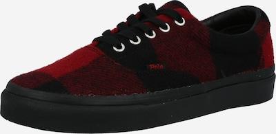 Polo Ralph Lauren Sneaker 'KEATON' in rot / schwarz, Produktansicht