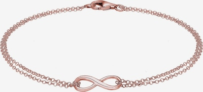 ELLI Armband 'Infinity' in rosegold, Produktansicht