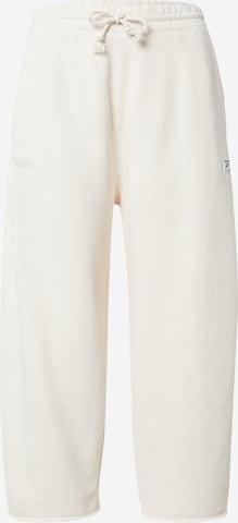 Pantalon de sport Reebok Sport en blanc