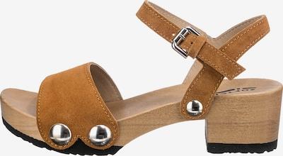 SOFTCLOX Sandalette in karamell, Produktansicht