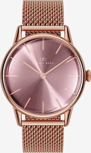 August Berg Uhr 'Serenity Ash & OrchidMesh 32mm' in rosegold / pink, Produktansicht