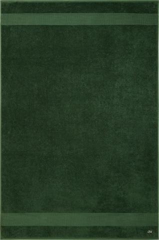 LACOSTE Towel 'L LE CROCO' in Green
