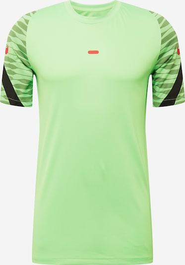 NIKE Koszulka funkcyjna w kolorze zielony / ciemnozielony / czarnym, Podgląd produktu