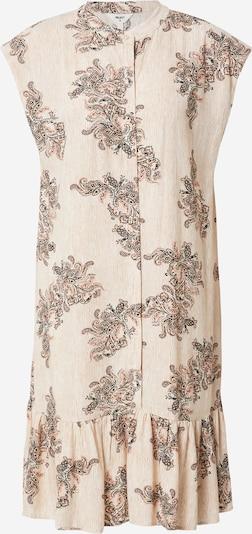 OBJECT Kleid 'ALIX' in creme / hellorange / schwarz, Produktansicht