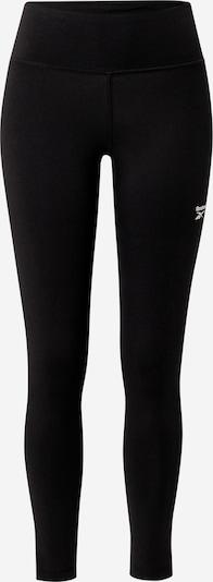 Sportinės kelnės iš Reebok Sport, spalva – juoda / balta, Prekių apžvalga