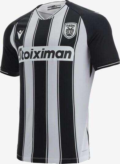 MACRON Trikot in schwarz / weiß, Produktansicht