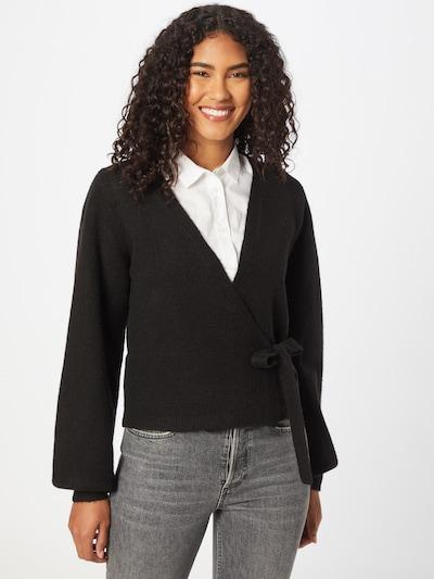 Moves Knit Cardigan 'Mynte' in Black, View model