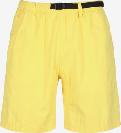 Carhartt WIP Shorts ' Clover ' in zitronengelb, Produktansicht