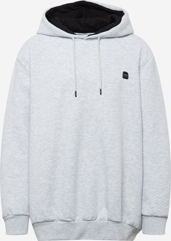 Jack & Jones Plus Sweatshirt 'POWER' in Grau