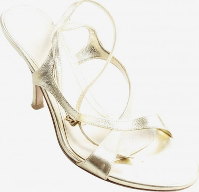 Kämpgen High Heel Sandaletten in 37 in beige / gold, Produktansicht