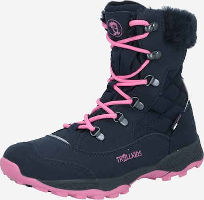 Sniego batai ' Hemsedal ' iš TROLLKIDS , spalva - tamsiai mėlyna / rausvai raudona, Prekių apžvalga