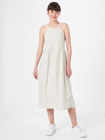 ESPRIT Лятна рокла в бяло