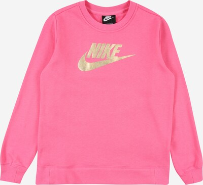 Nike Sportswear Mikina - zlatá / pink, Produkt