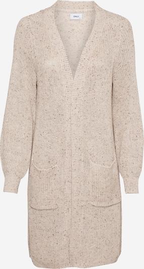 ONLY Strickjacke 'Diana' in beige / braun, Produktansicht