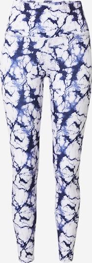 HKMX Pantalon de sport 'Oh My Squat' en bleu marine / bleu fumé / blanc, Vue avec produit