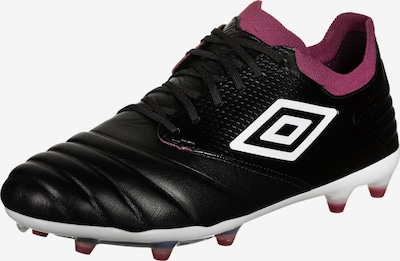 UMBRO Voetbalschoen 'Tocco Pro' in de kleur Wijnrood / Zwart / Wit, Productweergave