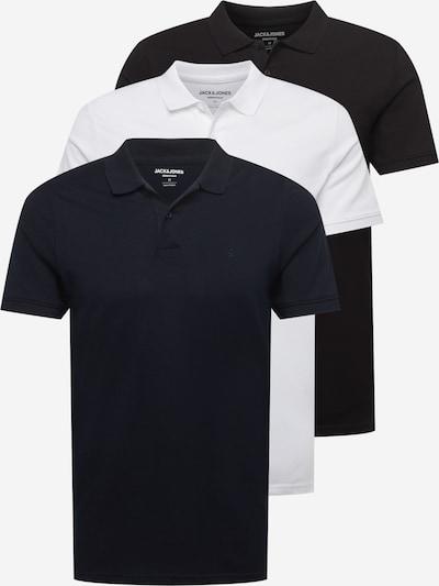 JACK & JONES Tričko - noční modrá / černá / bílá, Produkt